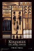 映画ポスター キングスマン Kingsman 24×35.6inc (61×90.5cm) US版 hi1 [並行輸入品]