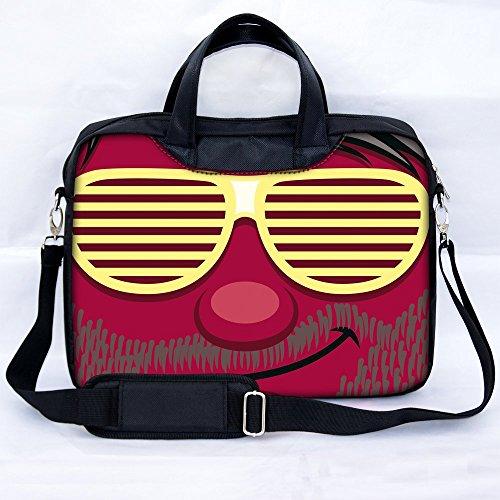 Sidorenko 15-15,6 Zoll Laptoptasche   Laptop Umhängetasche mit Zwei Innentaschen für Zubehör   Notebook-Schultertasche - Notebook-Tasche Schmutz- und Wasserabweisend