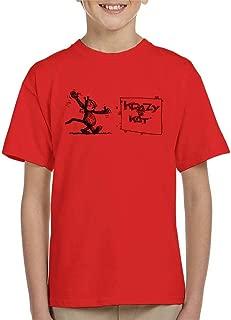Comics Kingdom Krazy Kat Wave Kid's T-Shirt