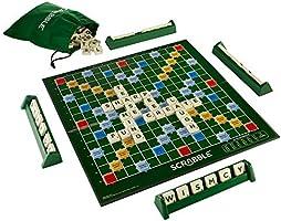 Scrabble Y9592 Brädspel (engelsk språkversion), Flerfärgad