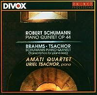 Robert Schumann - Uriel Tsachor - Johannes Brahms Schumann: Piano Quintet in E Flat Major / Brahms: Schumann - Piano Quintet