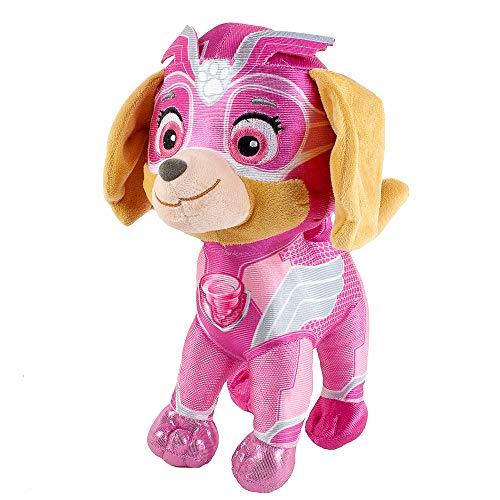 Teddys Rothenburg Skye rosa 27 cm Paw Patrol Mighty Pups Wirbelwindkraft Kuscheltier