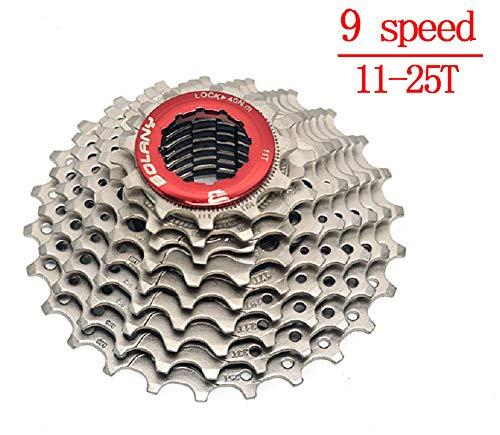 BIKECO 8-9-10-11 Velocidad Cassette 11-25T 11-28T 11-32T 11-36T Relación Ancha Cassette Piñones de Bicicleta de Carretera Bicicleta de Carretera Rueda Libre