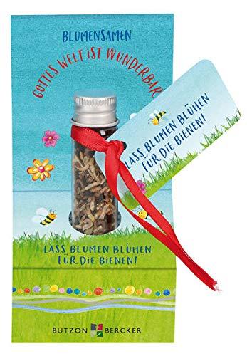 Lass Blumen blühen für die Bienen: Blumensamen
