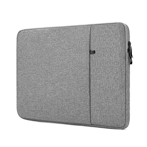ProElife 12-12.5 Inch Laptop Sleeve Case Cover Canvas Tablet Protective Bag for 12.3 Inch Surface Pro 4 Pro 5 Pro 6 Pro 7 (2020-2017), MacBook 12/MacBook Air 11.6 Inch (Gray)