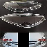 BYWWANG pour Peugeot 307 2003 2004 2005 2006 2007, phares Avant Transparents Abat-Jour Coquille de Lampe