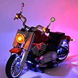 Kit d'éclairage LED avec boîtier de batterie pour Lego Harley Davidson 10269 (jeu de lumière uniquement)