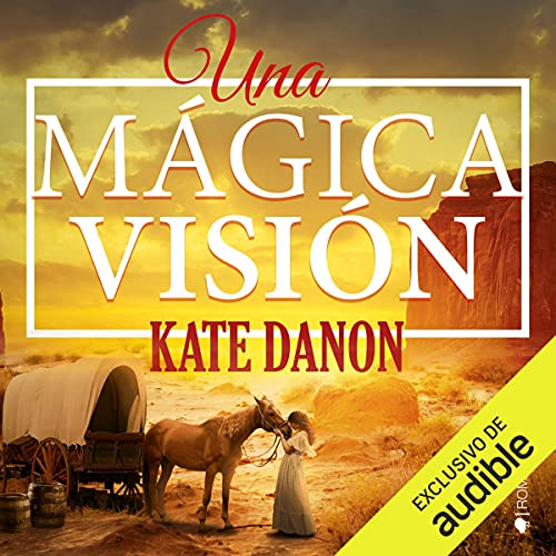 Diseño de la portada del título Una mágica visión