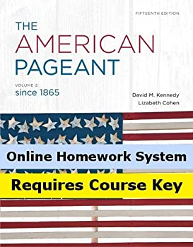 Aplia for Kennedy s The American Pageant Volume II 15th Edition