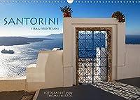 Santorini Fira & Firostefani (Wandkalender 2022 DIN A3 quer): Santorini Fira & Firostefani (Monatskalender, 14 Seiten )