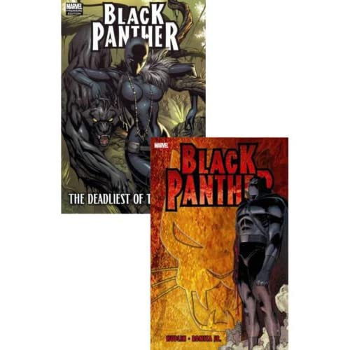 Marvel Comics THE BLACKPANTHER Graphic Novel set [Avengers fase 3 correlati]