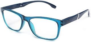 Inlefen Spring Hinges Vintage Reading Rectangular bicolor frame design Eyewear