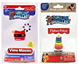 World's Smallest View Master and Rock-a-Stack - Bundle Set of 2