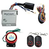 KKmoon 986E 1 Way Motorcycle Alarm System Remote Engine Start Motorcycle Engine Immobilization