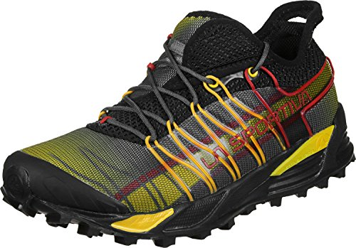 LA SPORTIVA Mutant Black, Zapatillas de Mountain Running Unisex Adulto, 43 EU
