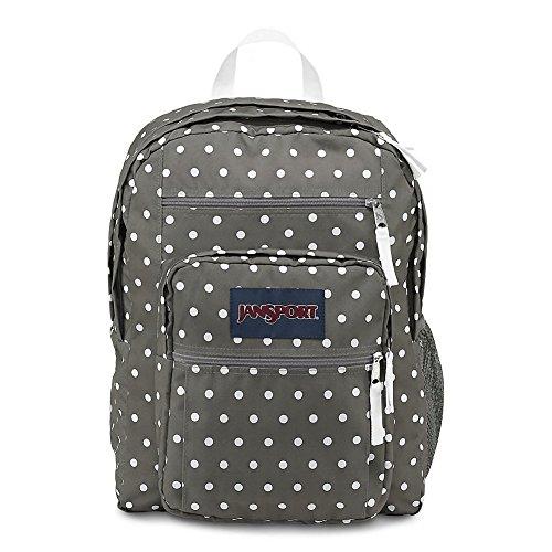 JanSport Big Student Classics Series Backpack - Shady Grey/White Dotss