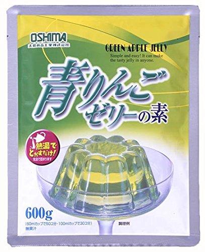 大島食品工業『青りんごゼリーの素』