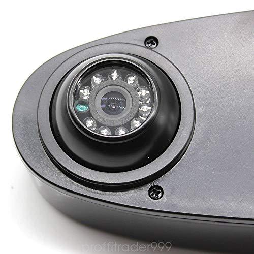 HYLH 170 Grad Dachrückenkamera für Viano Transporter/Mercedes Sprinter/VW Crafter T5 Schwarz