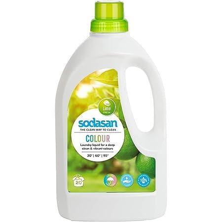 ソーダサン SODASAN 洗濯用洗剤 オーガニック レモン ランドリーリキッド 1.5L