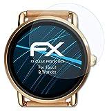 atFoliX Schutzfolie kompatibel mit Fossil Q Wander Folie, ultraklare FX Bildschirmschutzfolie (3X)
