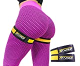 Occlusion Bands for Women Glutes & Hip Building, Blood Flow Restriction Bands BFR Bundle Booty Bands, Best Fabric Resistance Bands for Exercising Your Butt, Squat, Thigh, Fitness