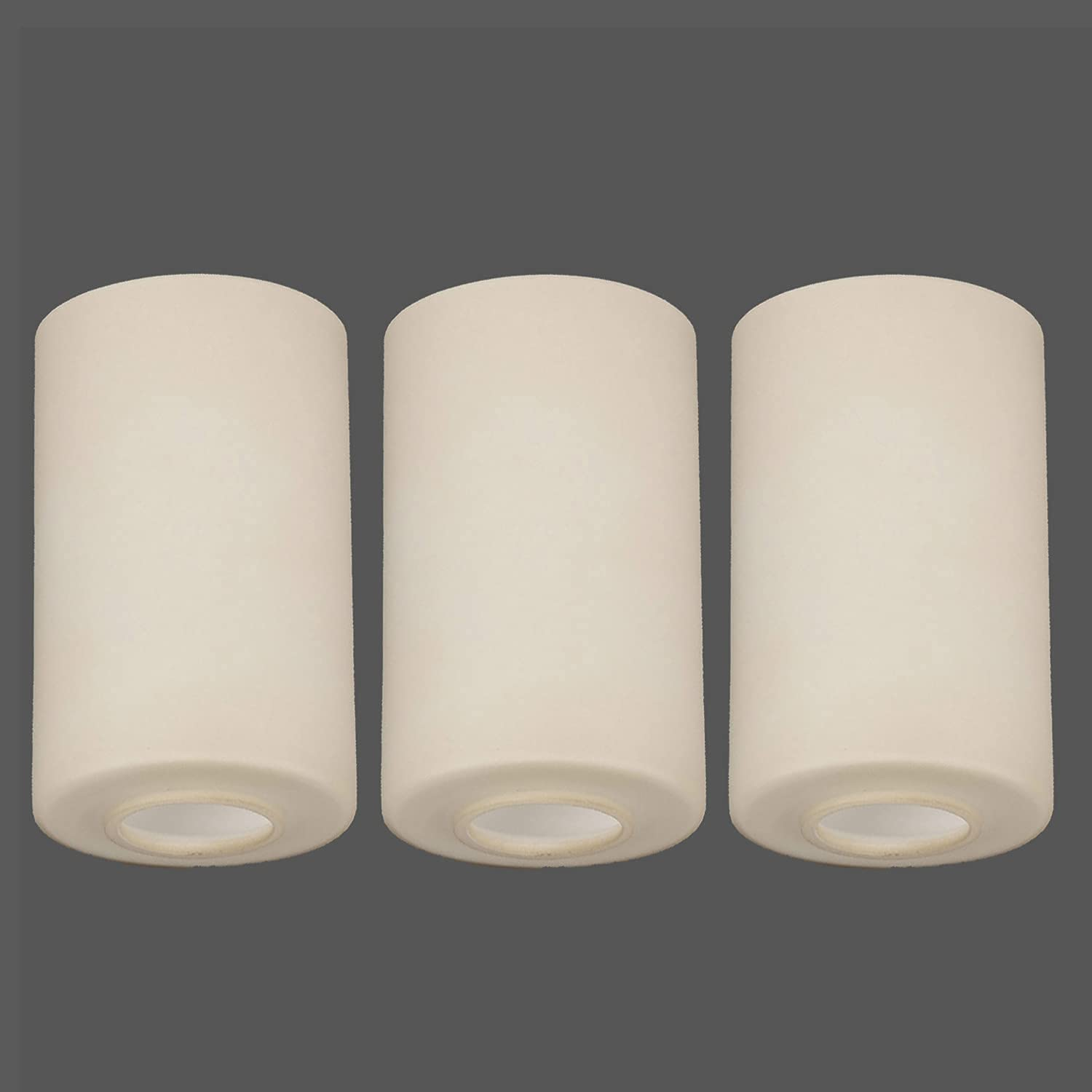 Anmire 3PCS Vintage Style Glass Shade with 1-5 Direct stock discount Replacement Popular 8-Inc