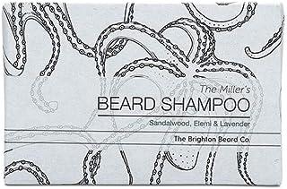 Brighton Beard Company The Miller's Beard Shampoo Bar, 100% Natural, No Parabens Or Sulfates, Cleanse Hair & Beard, Handmade 100g