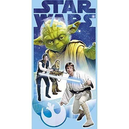 Kids Licensing–sw92279–Asciugamano di Spiaggia–Star Wars–Yoda