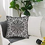 Kissenbezug Polyester Kissenhülle Dekorative,Ethnische, ethnische Mandala Blütenspitze Paisley...