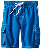 Kanu Surf Boys' Little Quick Dry UPF 50+ Beach Swim Trunk, Barracuda Royal, 4