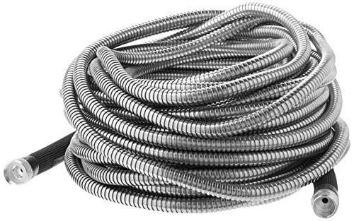 Bionic Steel 304 Stainless Steel Metal Garden Hose - Lightweight, Kink-Free, and Stronger Than Ever,...