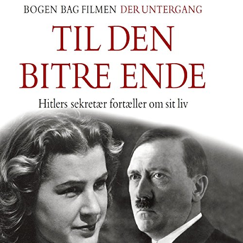 Til den bitre ende audiobook cover art
