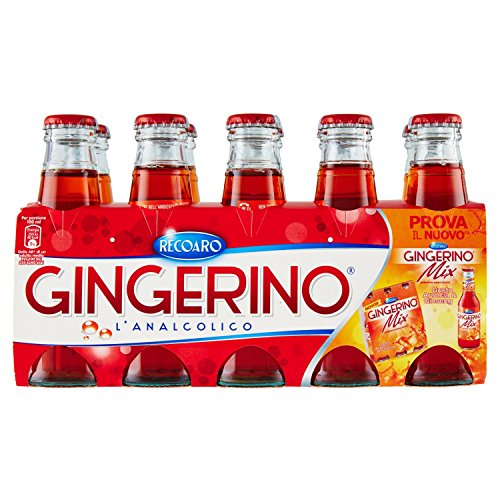 Gingerino Recoaro 0505077 Aperitif alkoholfrei, Cl 10 (Cluster) - [2 Stück]