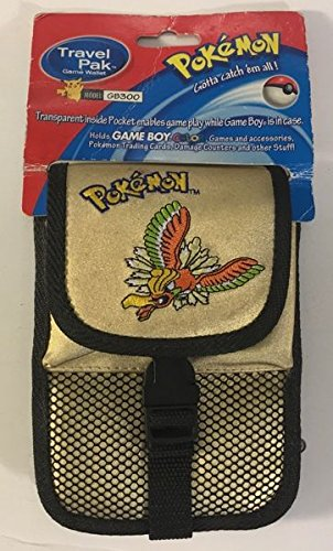 TRAVEL PAK POKEMON ORO GBCOLOR BANDOLERA