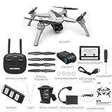 Drone JJRC JJPRO X5 5G WiFi FPV Drone GPS Positionnement Altitude Tenir 1080P Caméra Moteur sans Brosse 2 Batterie