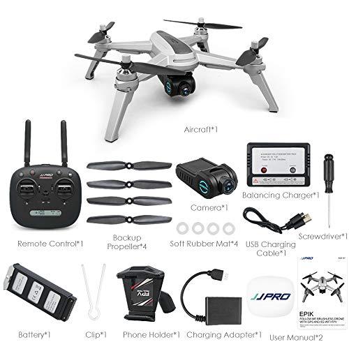 JJRC JJPRO X5 5G WiFi FPV drone GPS positionering hoogte opname 1080p camera motor zonder borstel 3 piles