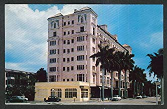 Manatee River Hotel Bradenton FL postcard 1956