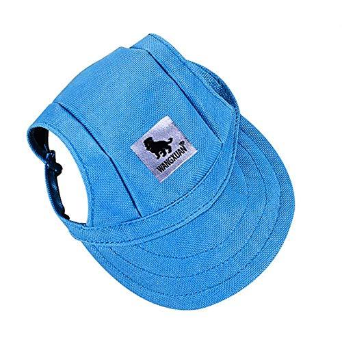 HEHUANG Gorras de Perro para Mascotas al Aire Libre Pequeño Cachorro Verano Colorido Gorra Sombrero de Visera de béisbol Sombrero Gorro de Sol Capó para Chihuahua Yorkshire, 01