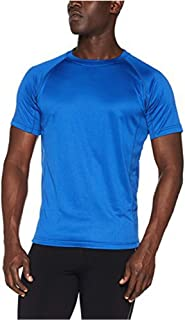 Quality | Mens T-Shirt Active Wear Sports Performance Tops Plain That Wicks Moisture Away Keeps You Cool and Dry While Tra...
