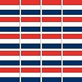 GreenIT 20 Stück 2,8cm Niederlande Holland Flagge Fahne RC Modellbau Mini Aufkleber Sticker Modellbauaufkleber