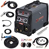 Amico MTS-205, 205-Amp Welder, MIG/MAG/Flux-Cored/Lift-TIG/Stick Arc Combo Welding, Compatible Spool Gun Welding Aluminum.