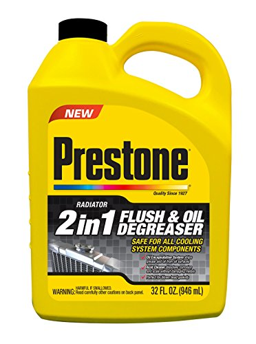 Prestone AS110 Radiator Flush and Degreaser, 32 oz