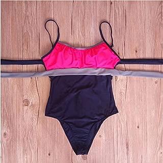 BEESCLOVER One Piece Swimsuit Plus Size Swimwear Women Swimsuit Summer Large Beach Vintage Retro Bathing Suits Swim Wear XXL