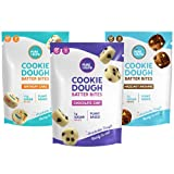 Edible Cookie Dough Batter Bites by Pure Crumb – No Bake Snack, Low Sugar (1g), Keto Friendly, Plant Based, Vegan, Gluten-Free, Dairy-Free (Variety Pack, 3.46 Ounce (Pack of 3))
