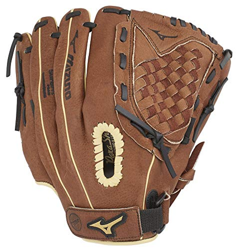 Mizuno GPP1150Y3 Prospect Series PowerClose Baseball Gloves, 11.5', Left Hand