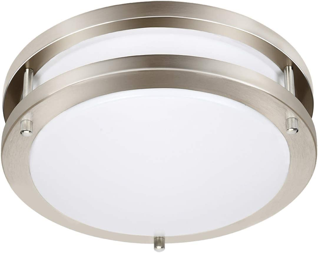 Drosbey 36W LED Ceiling Light Fixture, 13in Flush Mount Light Fi