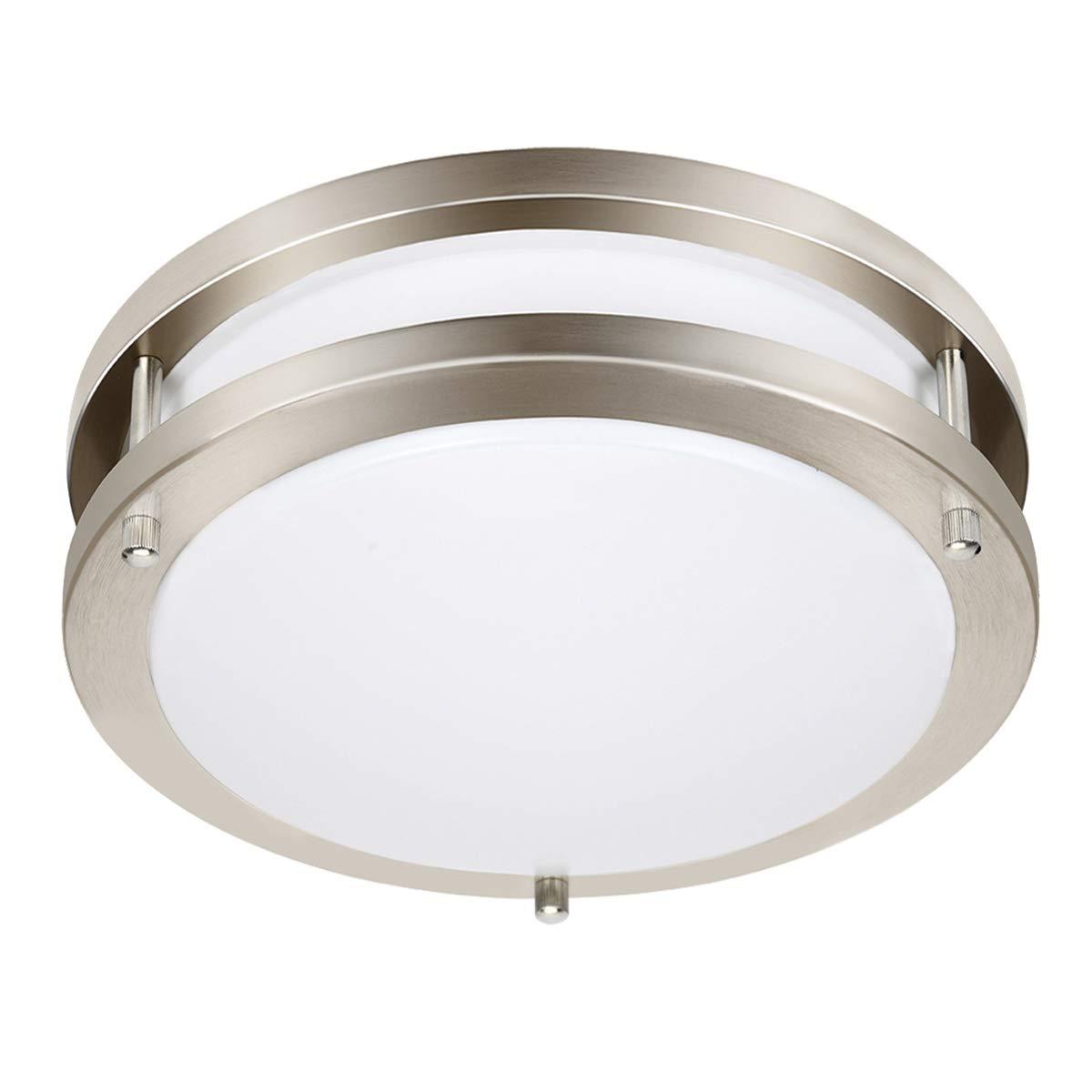 Drosbey 9W Flush Mount Ceiling Light Fixture, Kitchen Light