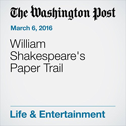 William Shakespeare's Paper Trail audiobook cover art