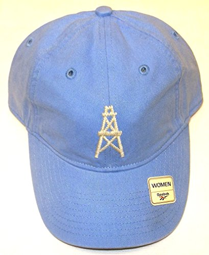 Houston Oilers Slouch Vintage Collection Reebok Strap Hat - Women Osfa