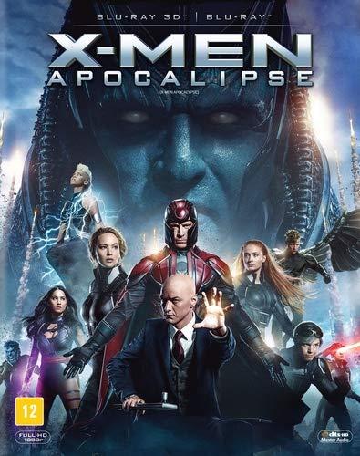 X Men Apocalipse [3D+Bd]